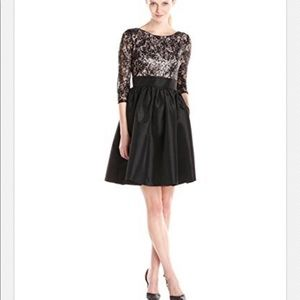 Calvin Klein Dresses - Calvin Klein 3/4 sleeve lace and sequins dress, 10
